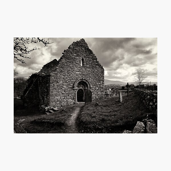 Ullard Church, near Graiguenamanagh, County Kilkenny, Ireland Photographic Print