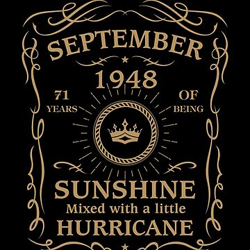 September 1948 Sunshine Mixed With A Little Hurricane by lavatarnt