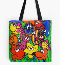 Fishy Business in Weed Patch Tote Bag