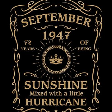 September 1947 Sunshine Mixed With A Little Hurricane by lavatarnt