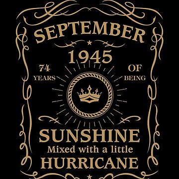September 1945 Sunshine Mixed With A Little Hurricane by lavatarnt