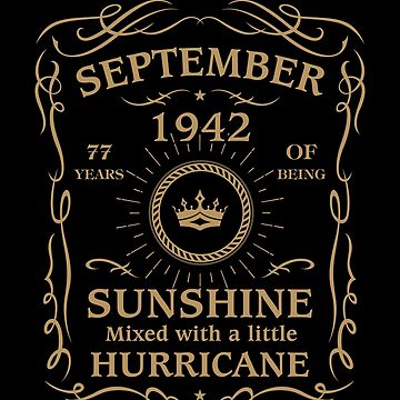 September 1942 Sunshine Mixed With A Little Hurricane by lavatarnt