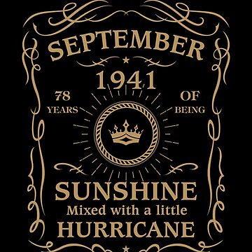 September 1941 Sunshine Mixed With A Little Hurricane by lavatarnt
