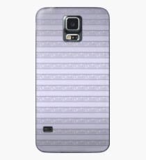 Funda/vinilo para Samsung Galaxy Serpiente blanca