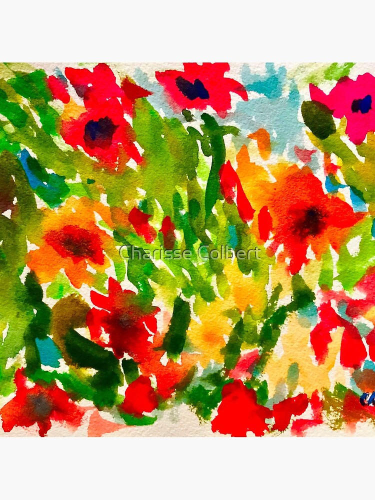 Flower Pop by charissecolbert