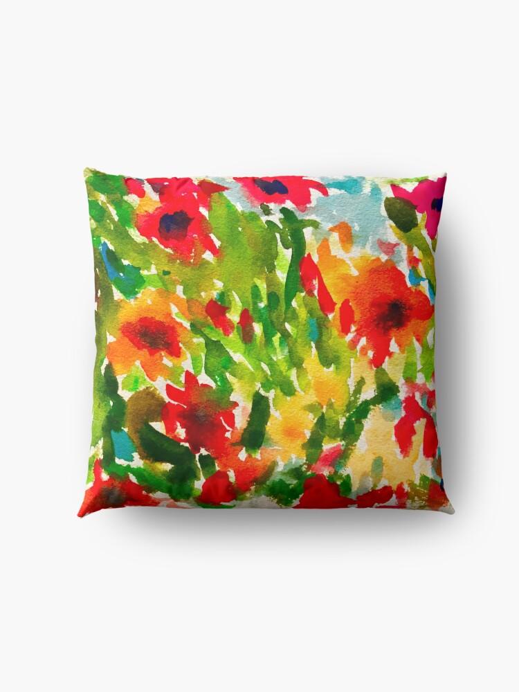 Alternate view of Flower Pop Floor Pillow