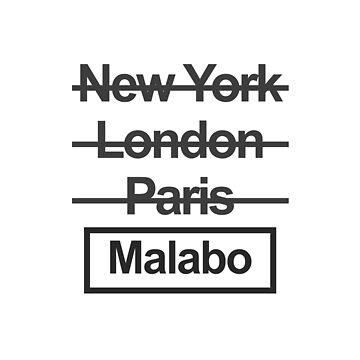 Equatorial Guinea Malabo City Text design by GetItGiftIt