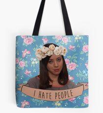 I Hate People - April Ludgate Tote Bag