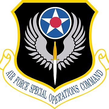 Air Force Special Operations Command (USAF) by wordwidesymbols