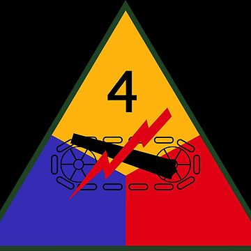 4th Armored Division (United States) by wordwidesymbols