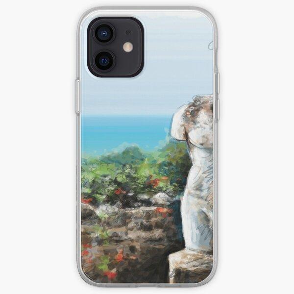 Un torse d'une statue romaine, T-shirt, affiches et cadeaux de Tunisie Coque souple iPhone