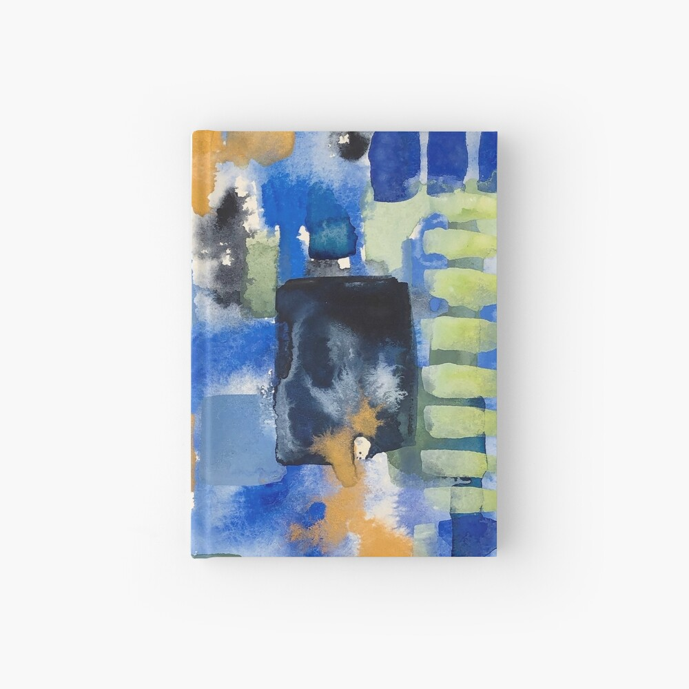 Ginger Jars Abstract Hardcover Journal