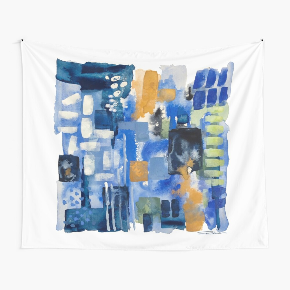 Ginger Jars Abstract Wall Tapestry