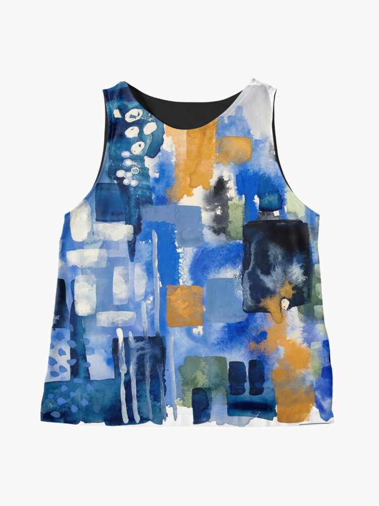 Alternate view of Ginger Jars Abstract Sleeveless Top