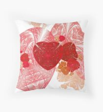 Light Field of Hearts Throw Pillow