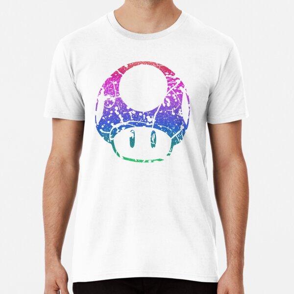 Invincibility Mushroom Splatter Premium T-Shirt