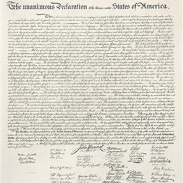 American, Declaration of Independence, United States of America, American Independence, USA by TOMSREDBUBBLE