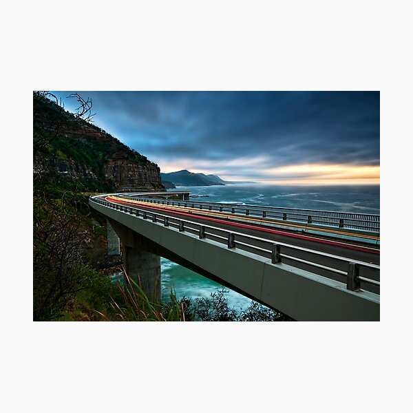 Early morning cruise to Wollongong Photographic Print