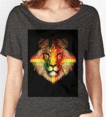 The Rasta Lion Women's Relaxed Fit T-Shirt