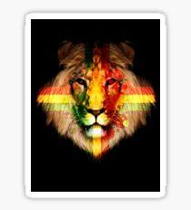 The Rasta Lion Sticker