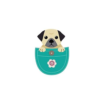 Cute Pugs Funny Gift Love Dog by macshoptee