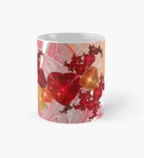 Light Scattered Hearts Mug