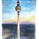 Berlin TV Tower by Meaghan Roberts