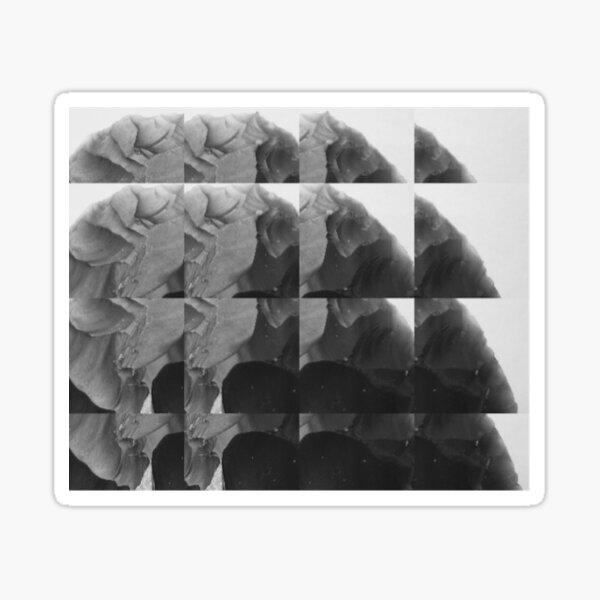 Aperture mono Sticker