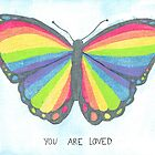 The Rainbow Butterfly Loves You by ashwords
