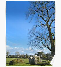 Megalithic Stone Circle Lough Gur Poster