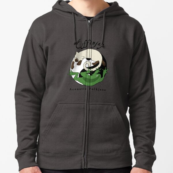 Effinjay - Dark Design Zipped Hoodie