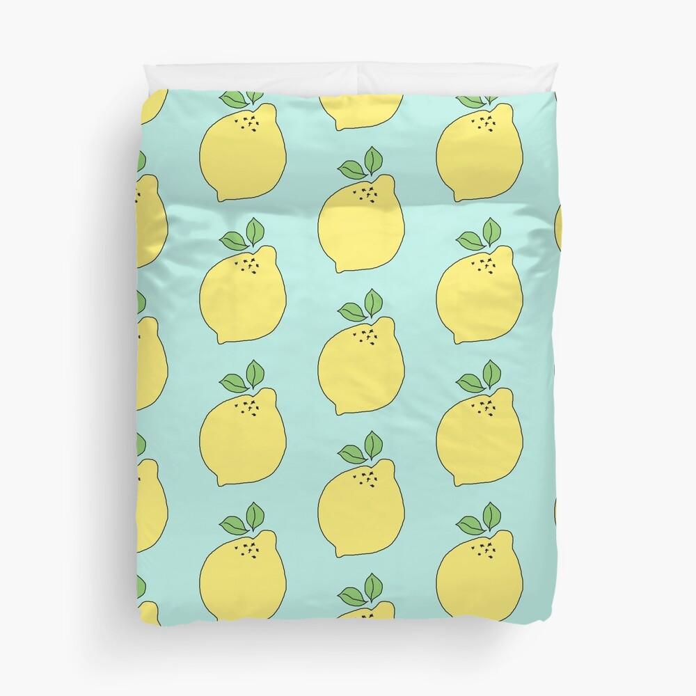 Time to Make the Lemonade Duvet Cover