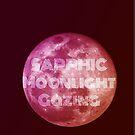 Sapphic Moonlight Gazing by Castiel Gutierrez