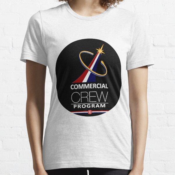 NASA's Commercial Crew Program Flight Suit Patch Essential T-Shirt