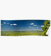 Algonquin Park panoramic landscape, Canada Poster