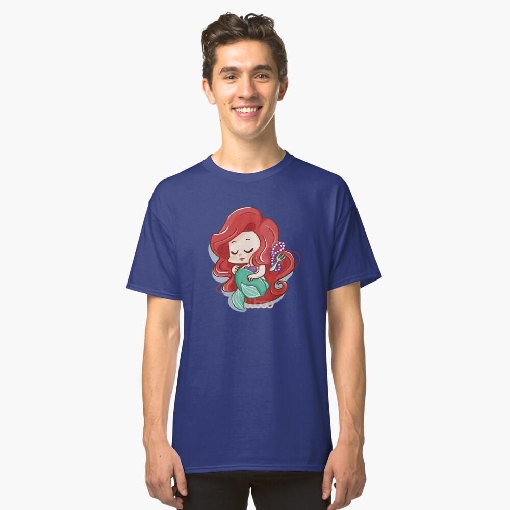 T-shirt classique «Chibi sirène princesse»