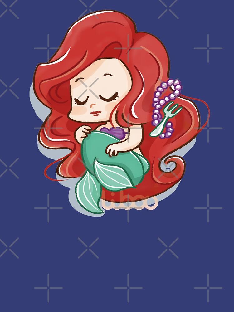 «Chibi sirène princesse» par Libou