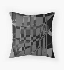 Messy Grey Floor Pillow