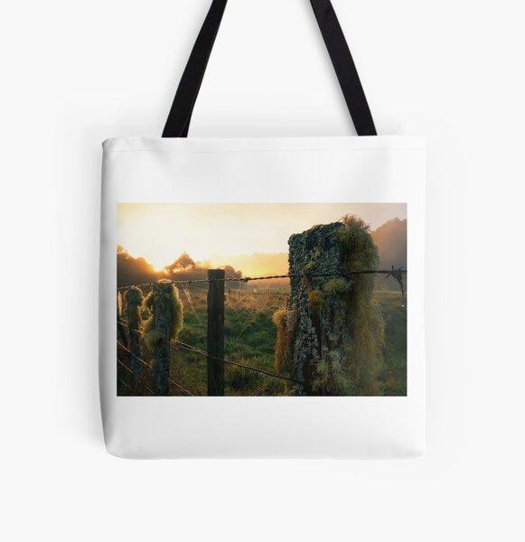 Dawn light All Over Print Tote Bag