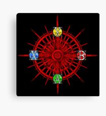 XBOX Gamer's Compass - Adventurer Canvas Print