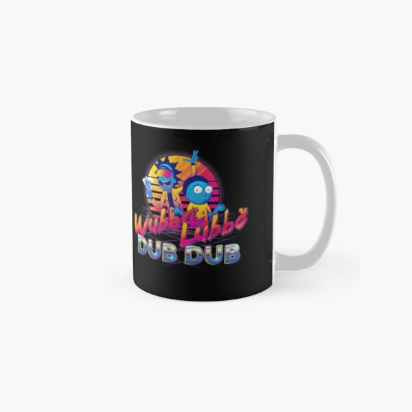 Rick and Morty Neon Classic Mug