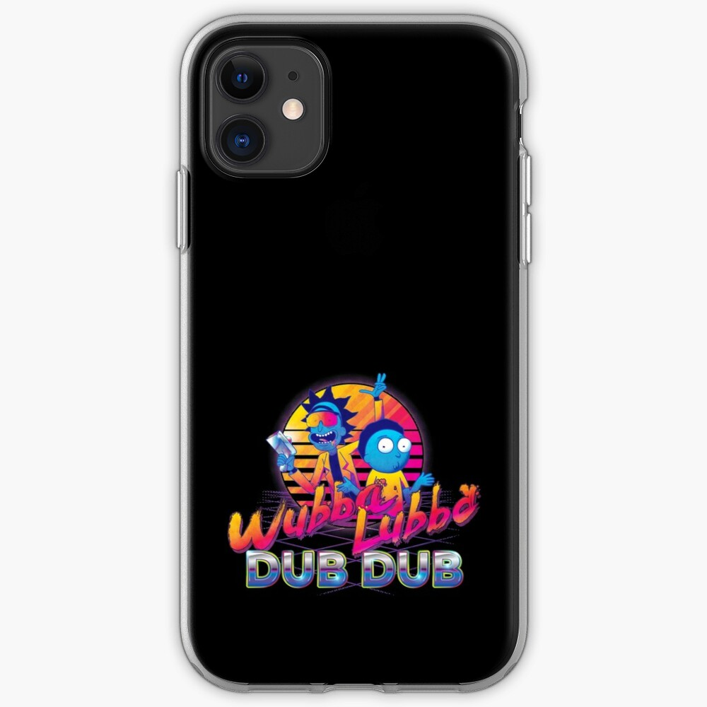 Rick and Morty Neon iPhone Case & Cover