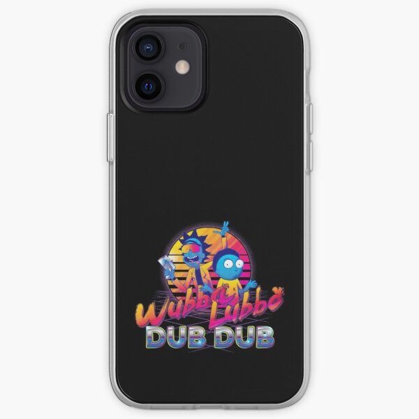 Rick and Morty Neon iPhone Soft Case