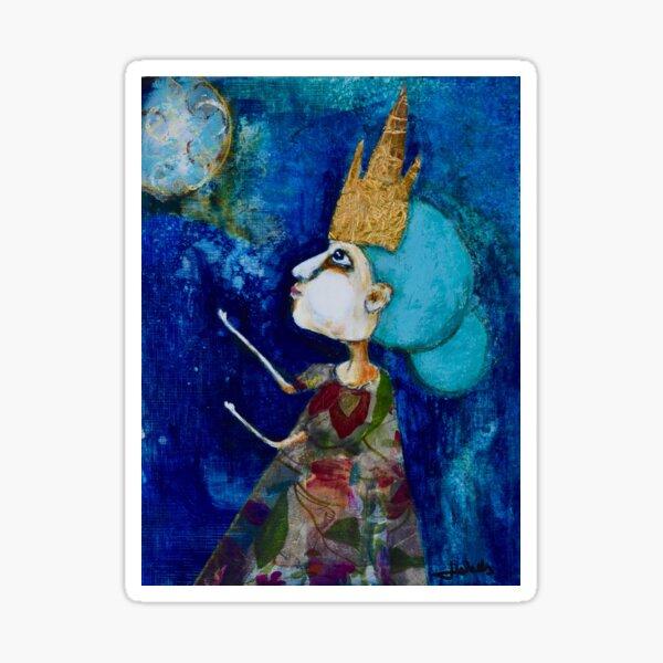 Princess Indu Summons the Moon Sticker