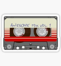 Guardians Awesome Mix Vol 1 Sticker