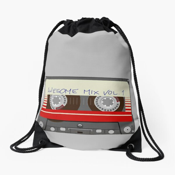Guardians Awesome Mix Vol 1 Drawstring Bag
