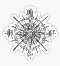 PC Gamer's Compass - Adventurer Sticker