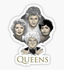 Great Girls Queen Sticker