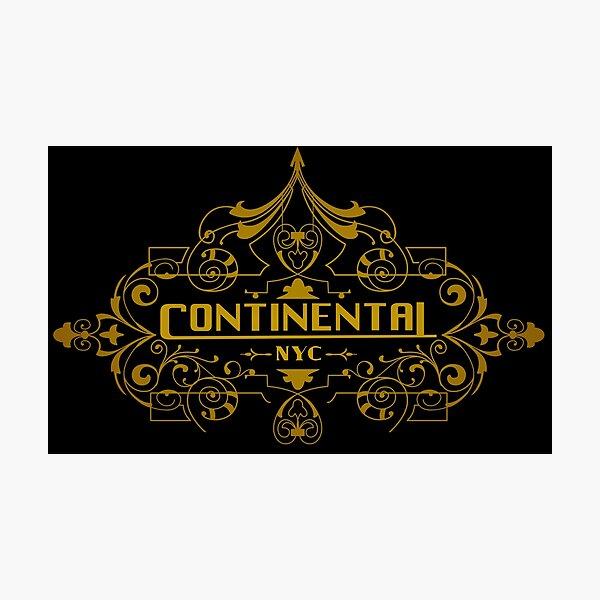 Continental Lámina fotográfica