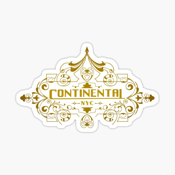 Continental Pegatina